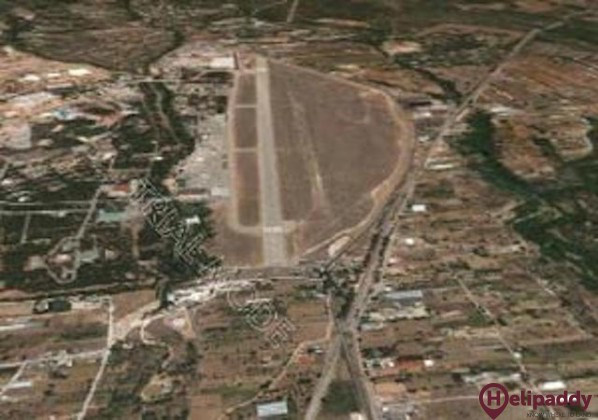 Tatoi Air Base by helicopter