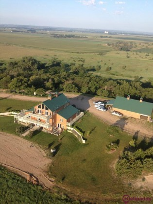 Comstock Premier Lodge LLC by helicopter