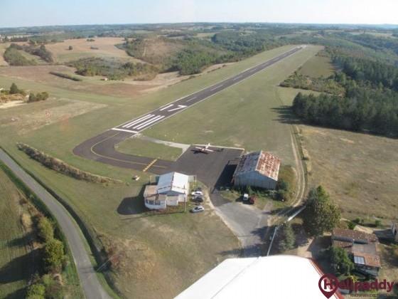 Aeroclub Fumel - Montrayal by helicopter