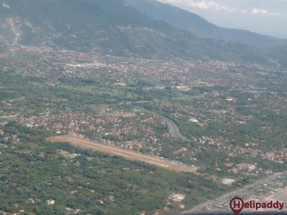 Massa Cinquale Aeroporto  by helicopter