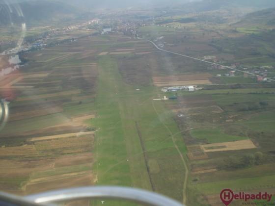 Bihać Golubić Aerodrome by helicopter