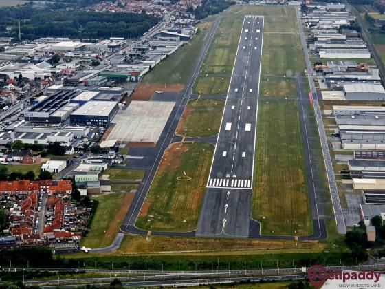 Kortrijk-Wevelgem by helicopter
