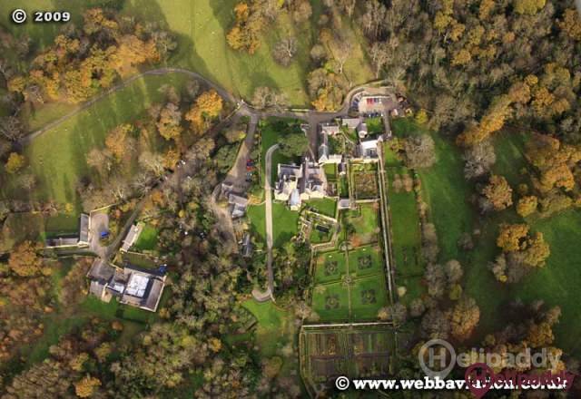 Bodysgallen Hall & Spa by helicopter