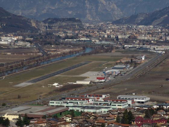 Trento (Mattarello) by helicopter