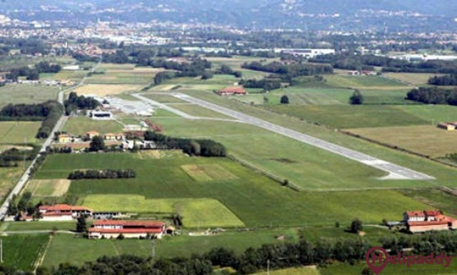 Aeroporto di Biella-Cerrione by helicopter