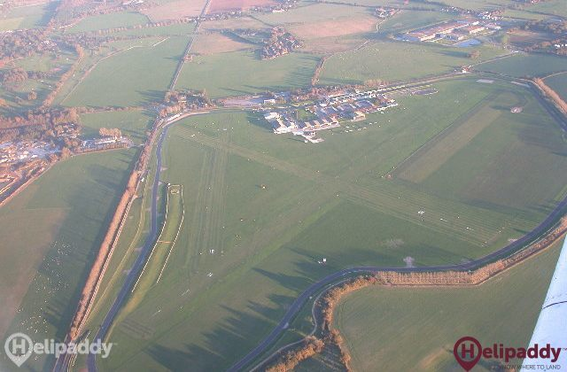 Chichester Goodwood by helicopter