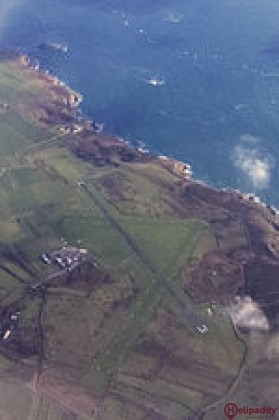 Alderney  by helicopter
