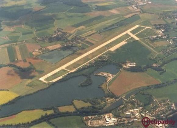 Hradec Králové Airport by helicopter