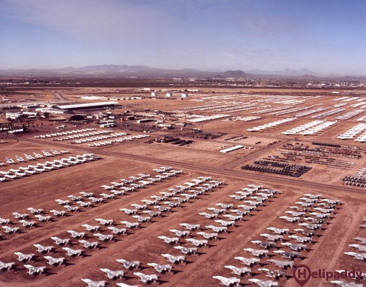 DWC, Davis-Monthan  by helicopter