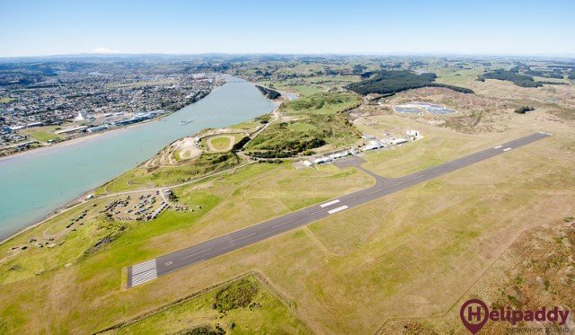 Whanganui by helicopter