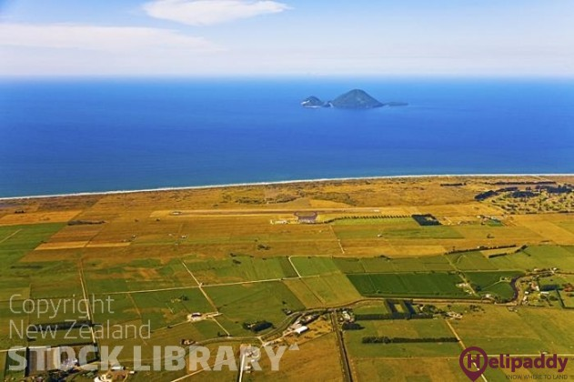 Whakatane by helicopter