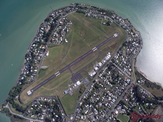 Whangarei by helicopter