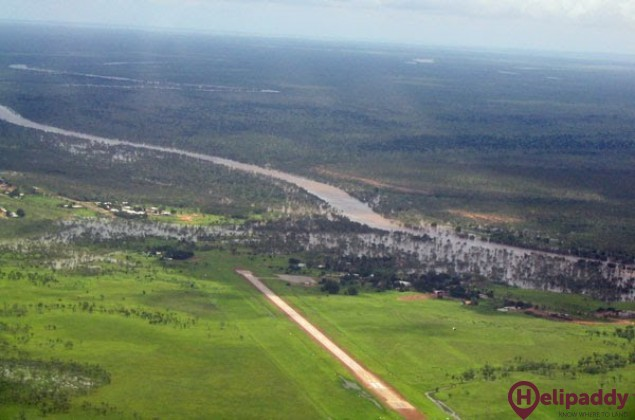 Borroloola by helicopter