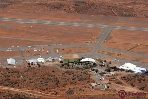 Broken Hill by helicopter