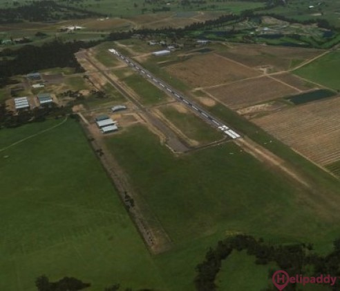 Cessnock by helicopter