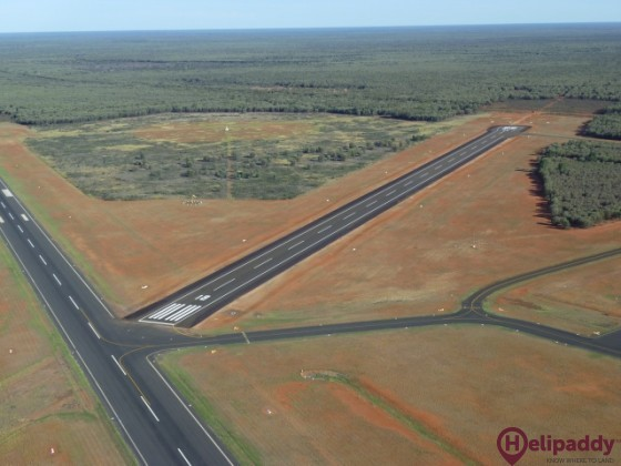 Charleville by helicopter