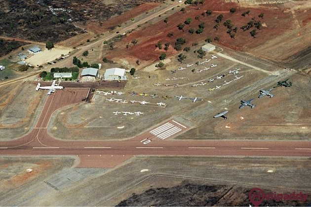 Charters Towers by helicopter