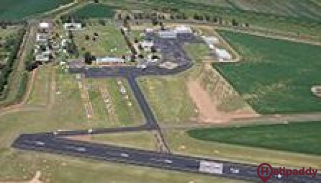 Cootamundra by helicopter