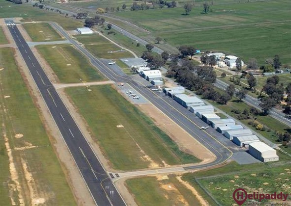 Shepparton by helicopter