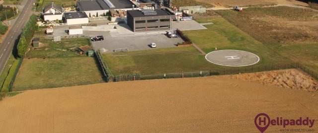 Meerbeek Heliport De Coninck Danny by helicopter