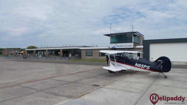 Vliegveld Midden-Zeeland by helicopter