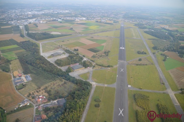 Limburg Regional Airport - EBST by helicopter