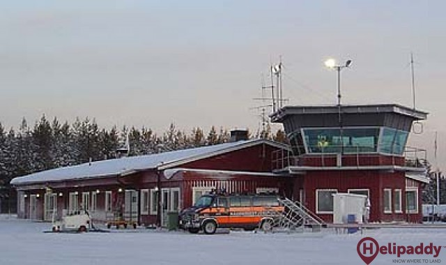 South Lapland Airport (Vilhelmina) by helicopter