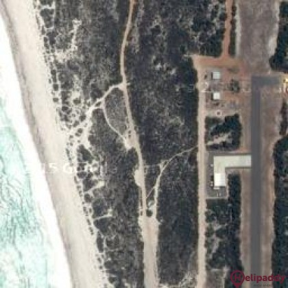 Dongara Aerodrome by helicopter
