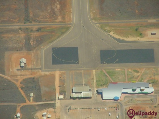 RAAF Learmonth by helicopter