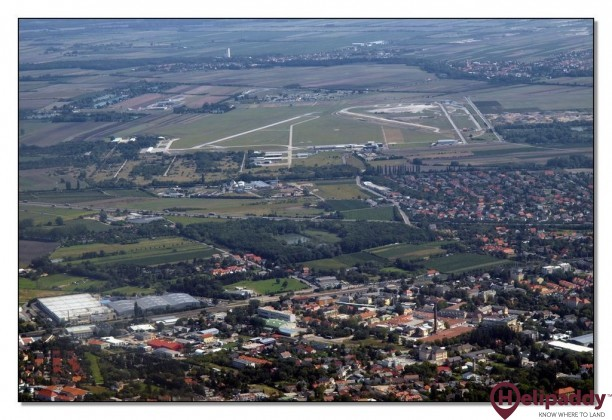 Bad Vöslau Airport by helicopter
