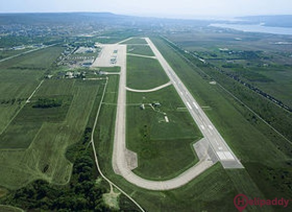 Varna Airport by helicopter