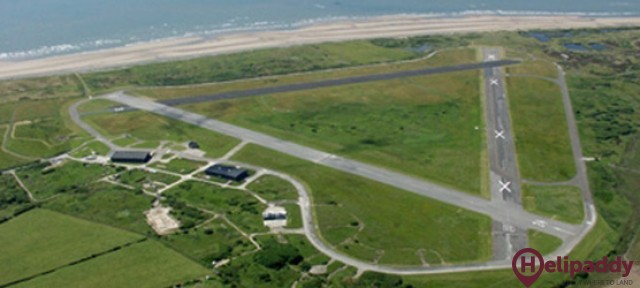 Barrow (Walney Island) by helicopter