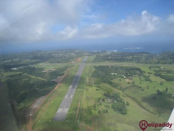 Norfolk Island by helicopter