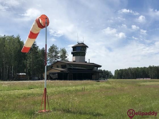 Konakovo Aero Club by helicopter