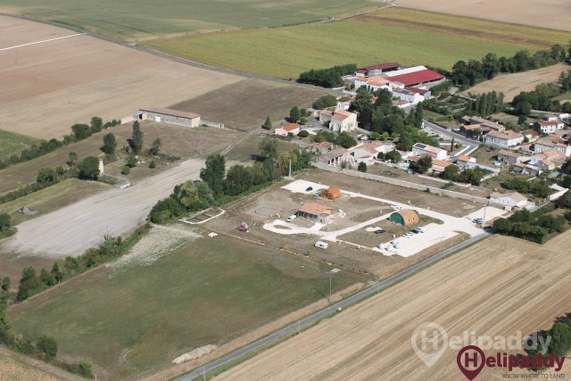 Bernay- St Martin by helicopter