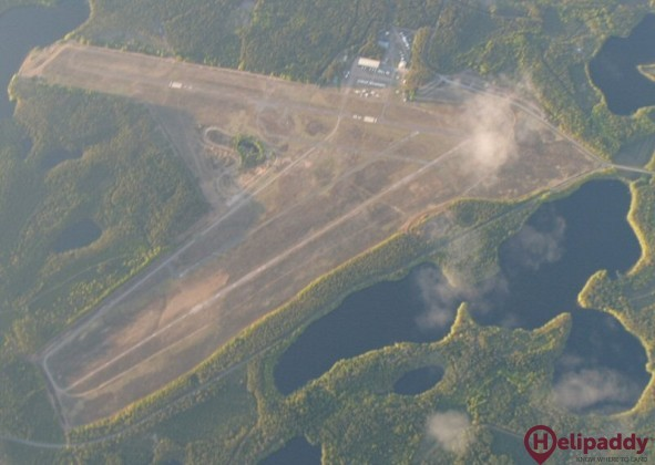 Rayskala Airport by helicopter