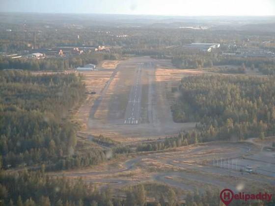 Hyvinkää Airfield by helicopter
