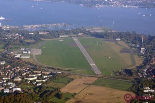 Kiel Holtenau by helicopter