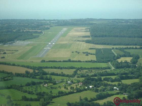 Deauville - Saint-Gatien Airport by helicopter
