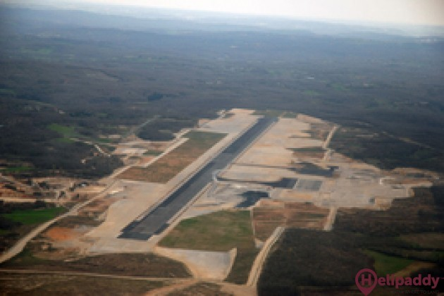 Brive Airport by helicopter