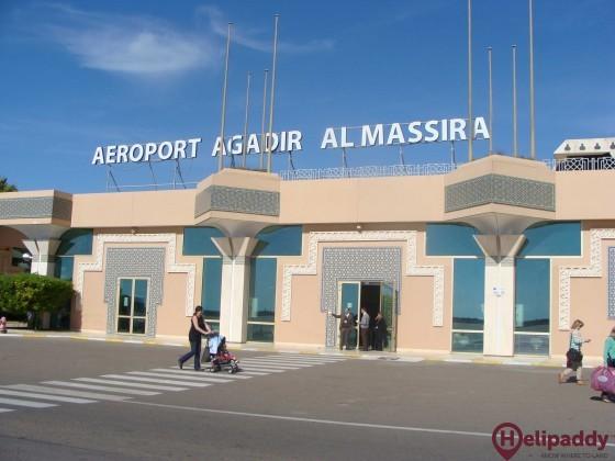 Agadir Al Massira by helicopter