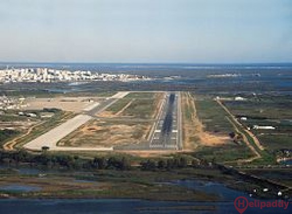 Faro Airport by helicopter