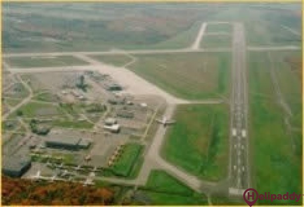 Québec City Jean Lesage Airport by helicopter
