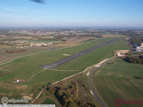 Angouleme Brei Champniers by helicopter