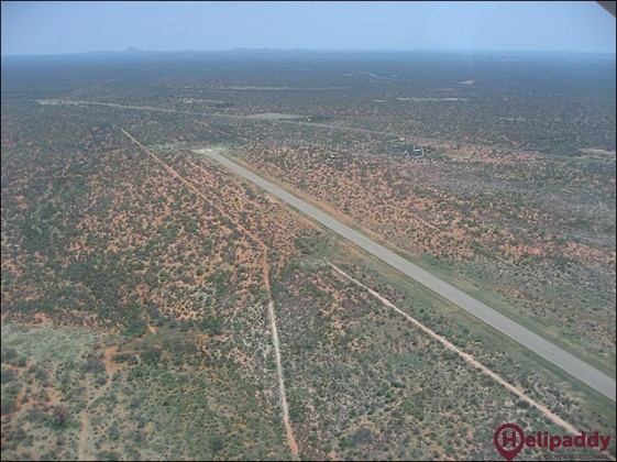 Musina Airport  by helicopter