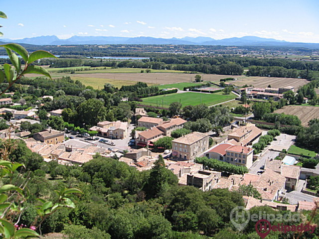Montelimar Ancone by helicopter