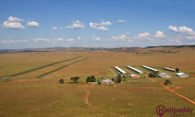 Baragwanath Airport FASY  by helicopter