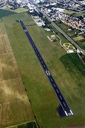 Aeroclub Foligno  by helicopter