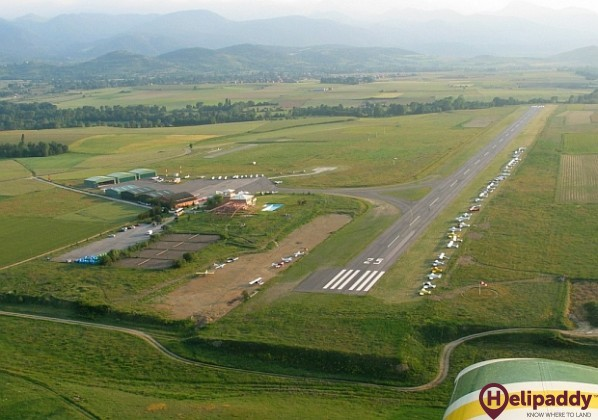 Aerodrome La Cerdanya by helicopter