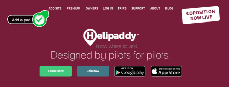 Helipaddy add a pad